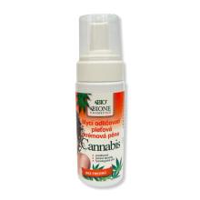 Bione Cosmetics Cannabis Mycí odličovací pleťová krémová pěna 150 ml