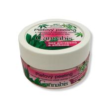 Bione Cosmetics Cannabis Pleťový peeling na obličej a tělo 200 g