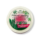 Bione Cosmetics Cannabis Pleťový peeling na obličej a tělo 200 g/1