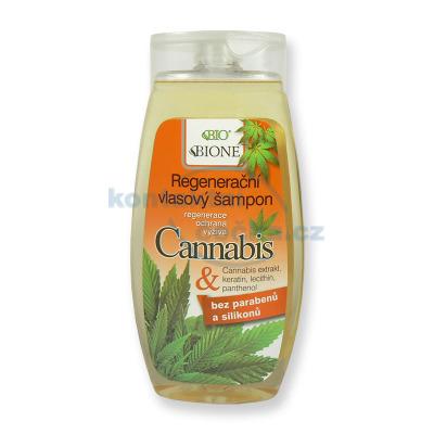 Bione Cannabis Regenerační vlasový šampon 260 ml