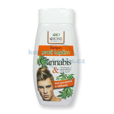 Bione Cannabis Šampon proti lupům 260 ml