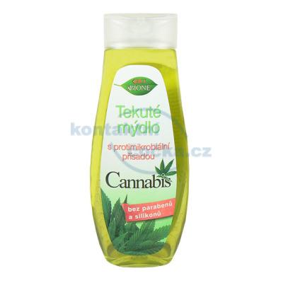 Bione Cannabis tekuté mýdlo s protimikrobiální přísadou - 300 ml