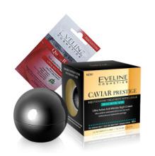 Eveline Caviar noční krém 50 ml + Eveline liftingová pleťová maska BIO Q10 7ml