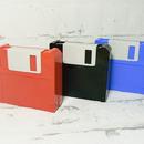 Cestovní se na čočky - vzor disketa