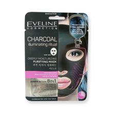 Charcoal textilní maska s uhlím 20 ml