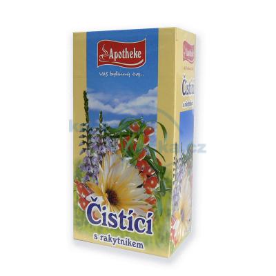 Apotheke Čistící s rakytníkem - bylinný čaj 20x1,5 g