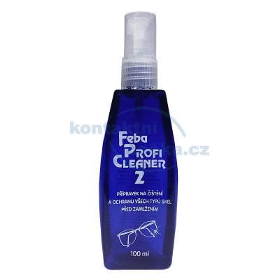 Čistící sprej na brýle Profi Cleaner2 100 ml - modrý