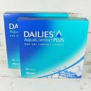 jednodenní kontaktní čočky Dailies AquaComfort Plus (180 čoček) - přední pohled