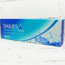 jednodenní kontaktní čočky Dailies AquaComfort Plus (30 čoček) - přední pohled
