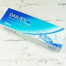 jednodenní kontaktní čočky Dailies AquaComfort Plus (30 čoček) - horní pohled