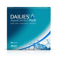 jednodenní čočky Dailies AquaComfort Plus (90 čoček)