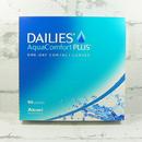jednodenní kontaktní čočky Dailies AquaComfort Plus (90 čoček) - přední pohled