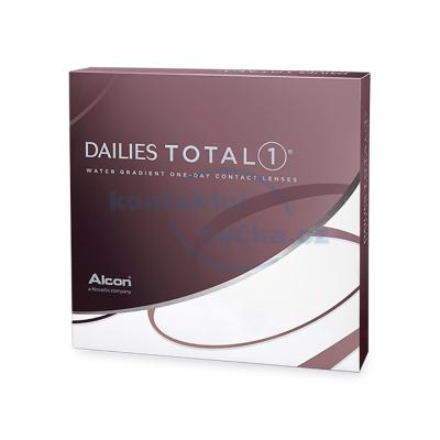 Jednodenní kontaktní čočky Dailies TOTAL1 (90 čoček)