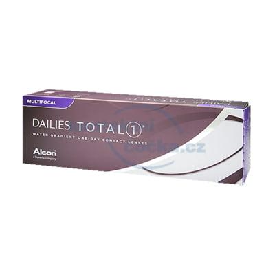 Jednodenní kontaktní čočky Dailies TOTAL1 Multifocal (30 čoček)