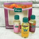 Kneipp Dárková sada masážních olejů - 3x 20 ml