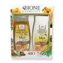 Dárková sada Med Regenerační vlasový šampon 260 ml + Regenerační kondicionér 260 ml