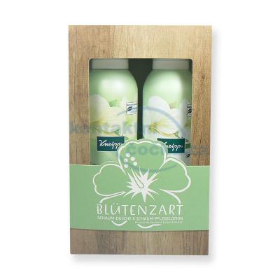 Kneipp sada Hedvábný květ sprchová pěna a pěnové tělové mléko 2x 200 ml