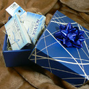 Balení dárků - čočky