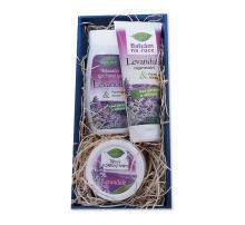 Dárkový balíček kosmetiky Bione Levandule
