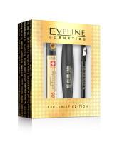 Dárkový set EVELINE - sérum na řasy SOS Lash Booster + řasenka Big Volume + tužka na oči