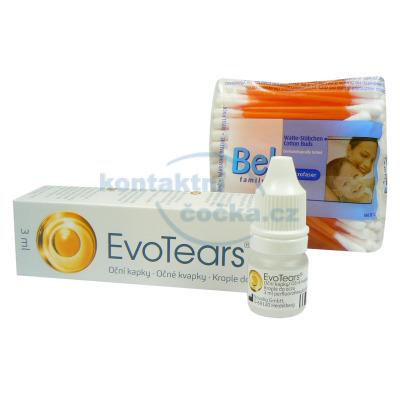 Akce EvoTears a vatové tyčinky