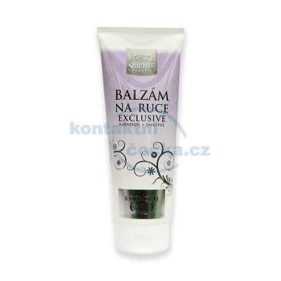 Bione Cosmetics Exclusive Q10 Balzám na ruce 200 ml