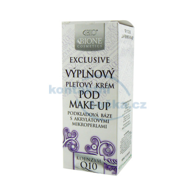 Bione Cosmetics Exclusive Q10 Výplňový pleťový krém pod make-up 40 ml