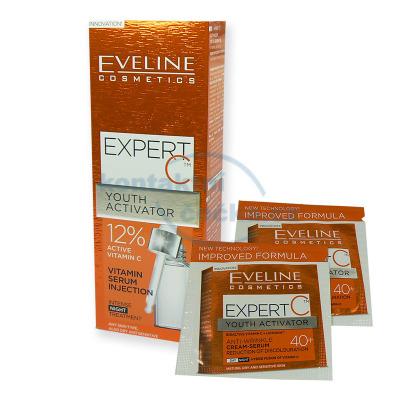 Eveline EXPERT C aktivní 12% vitaminové noční sérum 18 ml + 2x tester
