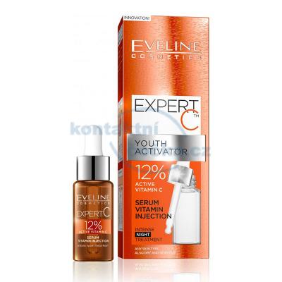 EVELINE Expert C aktivní 12% vitamínové noční sérum 18 ml