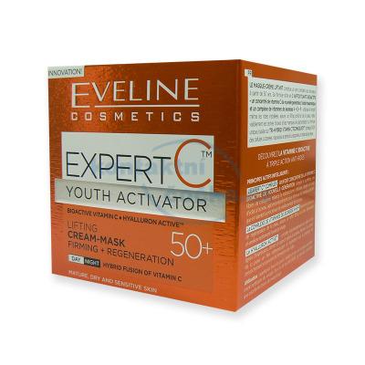 Eveline EXPERT denní a noční liftingový krém-maska 50+ 50 ml