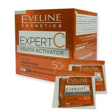 Eveline EXPERT C denní a noční liftingový krém-maska 50+ 50 ml + 2x tester