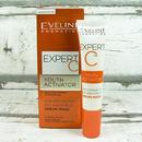 Eveline EXPERT C koncentrované sérum-maska na oči a oční víčka 15 ml - otevřeno