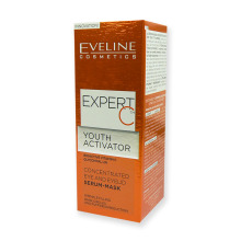 Eveline EXPERT C koncentrované sérum-maska na oči a oční víčka 15 ml