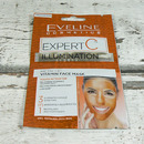 Eveline EXPERT C rozjasňující vitaminová pleťová maska 2x 5 ml - 3v1