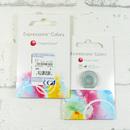 Expressions Colors barevné měsíční kontaktní čočky - přední a zadní pohled (parametry jsou pouze ilustrační)