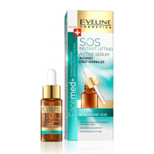 Eveline Cosmetics Facemed+ SOS 100% HYALURON ACID sérum proti hlubokým vráskám 18 ml