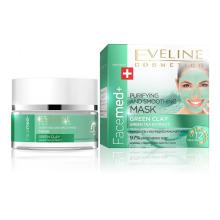 Facemed+ Čistící pleťová maska se zeleným jílem 50 ml