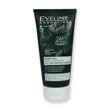 Eveline Facemed+ Čistící pleťový gel 3v1 s aktivním uhlím 150 ml