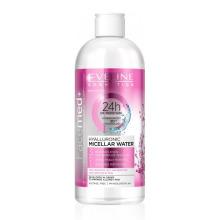 EVELINE Facemed+ Hyalluronic Micellar Water 400 ml - hyaluronová micelární pleťová voda 3v1