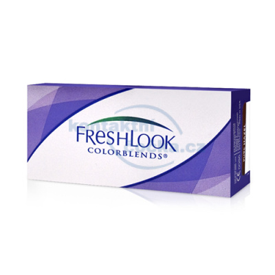 Barevné kontaktní čočky FreshLook ColorBlends dioptrické (2 čočky)
