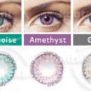 Kontaktní čočky barevné FreshLook ColorsBlends - barevná škála