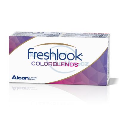 FreshLook ColorBlends nedioptrické (2 čočky) - barevné měsíční kontaktní čočky - nový obal
