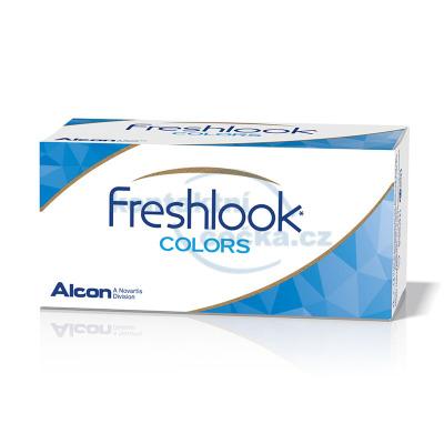 barevné kontaktní čočky FreshLook Colors dioptrické (2 čočky)