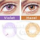Kontaktní čočky barevné FreshLook Colors - barevná škála