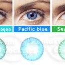 Barevné kontaktní čočky FreshLook Dimensions - barevná škála