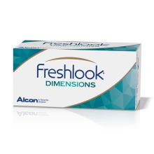 FreshLook Dimensions nedioptrické (2 čočky) - barevné měsíční kontaktní čočky - nový obal