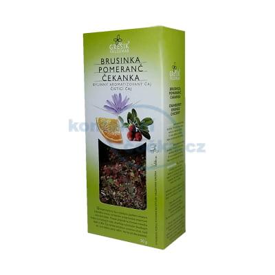 Bylinný čaj brusinka pomeranč čekanka Grešík - sypaný 50 g/2