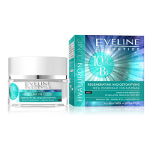 Eveline HYALURON CLINIC detoxikující noční krém - maska 50 ml