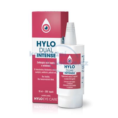 HYLO DUAL INTENSE oční kapky bez konzervantů 10 ml
