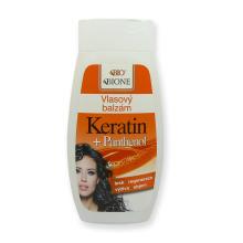 Bione Cosmetics Vlasový balzám Keratin + Panthenol 260 ml